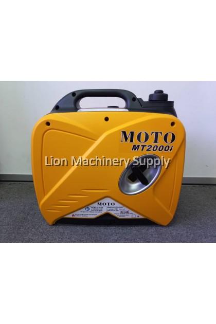MOTO 1,800Watt Gasoline Portable Super-Quiet & Stable Inverter Generator MT2000I - Heavy Duty - 6 Months Local Warranty -