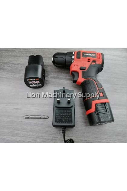 JIONGJIE 16.8V 40N.m Powerful brushless cordless driver drill EC-T18 C/W 2pcs 1.5Ah Batteries & 1pc Charger
