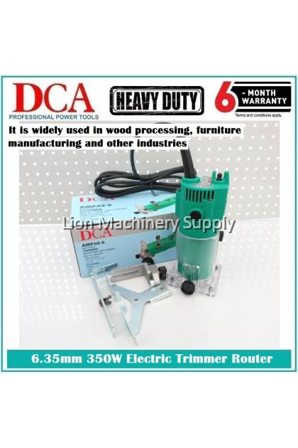 DCA 350Watt 6.35mm Electric TRIMMER ROUTER AMP02-6 - Heavy Duty - 6 Months local Warranty -